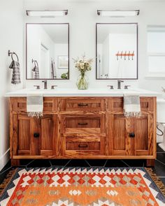 Are you adding in fall colors and textures to your home? Bathroom Vanity Organization, Bathroom Layout, Bathroom Interior, Bathroom Ideas, Bathroom Designs, Bathroom Storage, Bathroom Bin, Tile Layout, Bathroom Showers