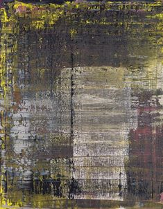 Gerhard Richter Abstraktes Bild 1990 84 cm x 69 cm Oil on canvas