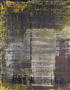 Gerhard Richter Abstraktes Bild 1990 84 cm x 69 cm Oil on canvas