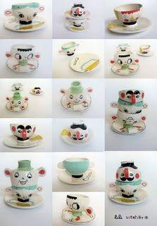 fun ceramics by Lili Scratchy.