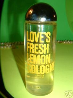 Love's Lemon Fresh ♥  We all smelled like lemons, strawberries or green apple.
