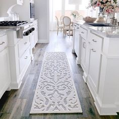 My Texas House by Orian Indoor/Outdoor Lady Bird Natural Area Rug Kitchen Rug, Kitchen Chairs, Kitchen Design, Kitchen Runner Rugs, Kitchen Decor, Kitchen Carpet, Kitchen Layout, Kitchen Flooring, Rug Runners