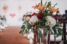 More of the aisle flowers Scott Patrick Myers Photography