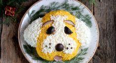 Рецепт салата «Собака» на Новый год 2018 http://god2018.gq/recept-salata-sobaka-na-novyj-god-2018/ #салат #рецепт #собака #новыйгод #новогодний #кулинария