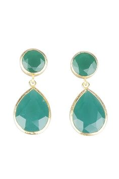 https://www.cityblis.com/4005/item/7334   Green Drop Earrings - $88 by Toosis   All my jewelry is hand crafted with pure and sterling silver. The gold color is done by coating silver with 18 karat gold. This earring is designed with faceted oval and drop shape cut green stones.  They are 4cm (1.6inch) long, 1.8cm at the widest part and 5gr.each.  I ship my items well-cushio...   #Earrings