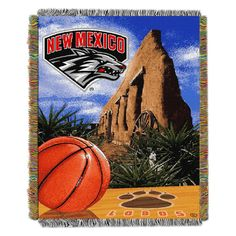 NCAA Northwest Tapestry Throw Blanket New Mexico Lobos - 48 x 60