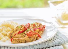 Pollo al horno con miel y mostaza1