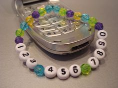 I.C.E. Bracelet (In Case of Emergency). $5.00, via Etsy. I am pretty sure I could make this