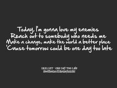 A Day Late by Anberlin w/ lyrics - YouTube
