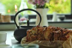 pull apart brød med kanel, æble og morgenfrue - Knæhøjkarse