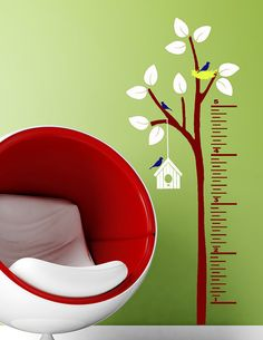 Kids Growth Chart Decal Children Decor for by HouseHoldWords, $40.00