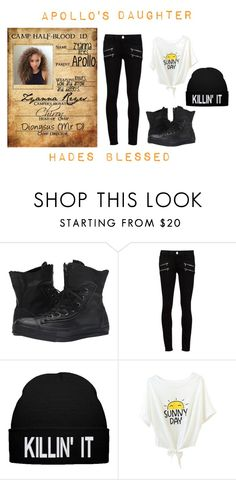 """""""New Camper: Zyanna Reyes"""" by because-it-is on Polyvore featuring Converse and Paige Denim"""