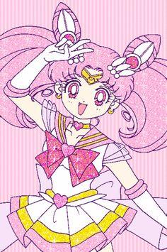 Super Sailor Chibi Moon by Sweetie Senshi - Sailor Moon fanart