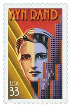 Scott #3308 1999 33c Ayn Rand for sale at Mystic Stamp Company