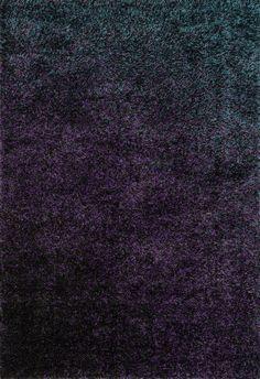 "Loloi Rugs - Barcelona Shag - 7'-7"" X 10'-5"" - Midnight"