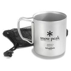Snow Peak Titanium Double-Wall 450 Mug