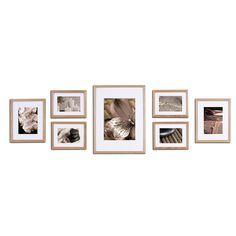 FREE SHIPPING! Shop Wayfair for Nielsen Bainbridge Gallery 7 Piece Perfect Wall Picture Frame Set - Great Deals on all Decor products with the best selection to choose from!