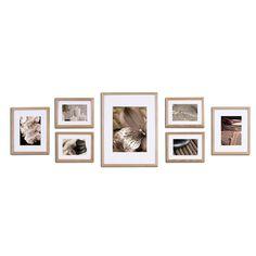 Wayfair For Nielsen Bainbridge Gallery 7 Piece Perfect Wall Picture Frame Set