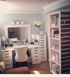 Bookcase // nail polish rack