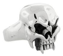 Biker Rings, Sterling Silver Skull Rings, Men�s Skull Rings, Biker Skull Rings, Skulls Rings.
