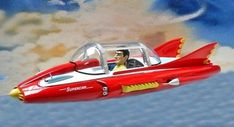 Here, Donald Trump Jr. practices flying one of his father's planned US Space Force Vehicles. Old Sci Fi Movies, Sci Fi Films, Thunderbirds Are Go, Sci Fi Comics, Sci Fi Models, Classic Sci Fi, Cartoon People, Kids Tv, Retro Futurism
