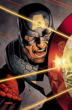 Captain America vs Hyrdra