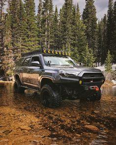 Save by Hermie – Cars is Art Toyota 4runner Trd, Toyota Tacoma, Toyota Trucks, Pickup Trucks, Jeep Wk, Toyota Girl, Off Road Adventure, 4 Runner, Toyota Land Cruiser