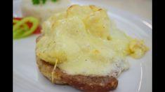 OnLive© Főzőiskola - Sertésszelet Dubarry módra Eggs, Breakfast, Morning Coffee, Egg, Egg As Food