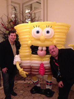 Spongebob balloon character #spongebob-balloon character #spongebob balloon sculpture #spongebob-balloon sculpture #spongebob balloon decor #balloon-decor #spongebob balloon decoration #spongebob balloon-decoration #spongebob balloon art