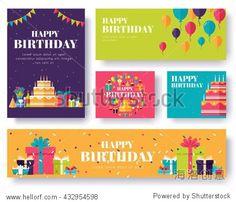Gifts vector banners set -站酷海洛正版图片, 视频, 音乐素材交易平台 - Shutterstock中国独家合作伙伴 - 站酷旗下品牌