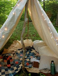 DIY Canvas Tent @themerrythought