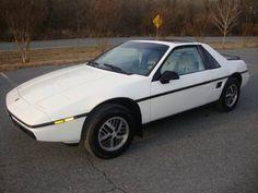 My first ride... a 1984 Pontiac Fiero 2m4