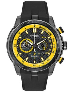 Citizen Matt Kenseth Limited Edition Ecosphere - Metal Carbon Layered Black Dial