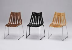 Da Ming Kai - Suiann's Low Back Bent Plywood Slat Chair.   Showroom: SAMS M-6045   #hpmkt