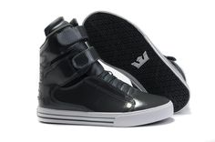 Supra High Tops Black White Official Site