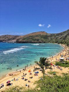 Hanauma Bay, Oahu, Hawaii... Foto: Marco André...