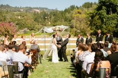 Masked Man Ranch Wedding Photo