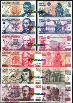 Mexico banknotes - Mexico paper money catalog and Mexican currency history