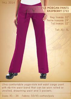 713 Morgan Pants | 713-73 (Raspberry)