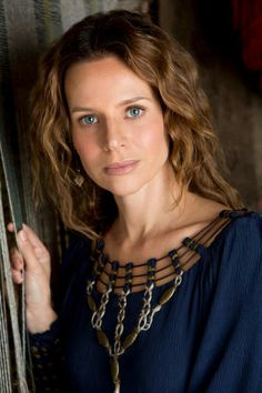 Jessalyn Gilsig as Siggy | Vikings: History Channel - most interesting cahracter in this show