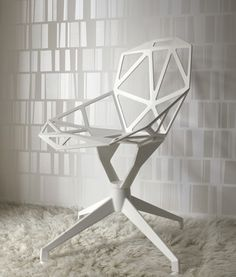 Great Chair! Eco White wallpaper looking good. Now I just need a new apartment.
