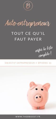 TheBBoost Ce quil faut payer quand on est auto entrepreneur - Entrepreneurs - Ideas of Buying First House Business Planning, Business Tips, Business Motivation, Business Quotes, Community Manager Freelance, Be Your Own Boss, Buisness, Business Entrepreneur, Online Work