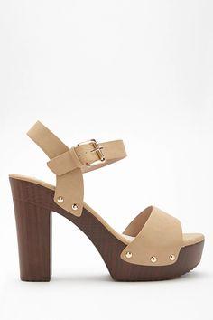 c300ebb3b40 Product Name Faux Leather Platform Clog Sandals