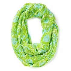 Lilly Pulitzer Riley Infinity Loop Scarf in Shorely Blue Sunnyside