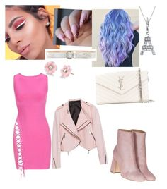"""""""In Club"""" by violettav631 on Polyvore featuring Laurence Dacade, Yves Saint Laurent, Irene Neuwirth and Bling Jewelry"""