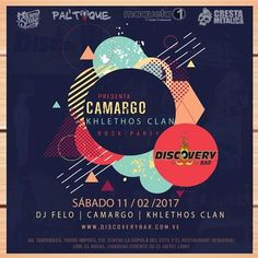 Camargo y Khlethos Clan se estarán presentando en Disovery Bar http://crestametalica.com/camargo-y-khlethos-clan-se-estaran-presentando-en-disovery-bar/ vía @crestametalica