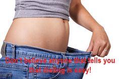 Dieting isn't easy!