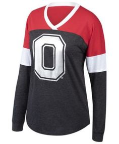 Authentic Ncaa Apparel Women s Ohio State Buckeyes Champion Cheer T-Shirt -  Red Black S f27ea92896