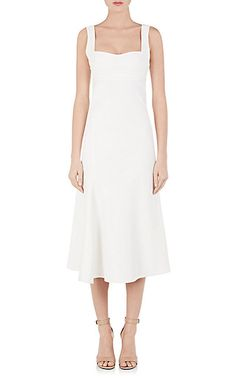 We Adore: The Cady Fluted Midi-Dress from Victoria Beckham at Barneys New York