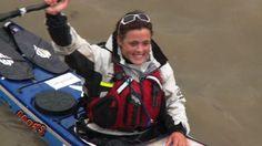 Sarah Outen, la mujer que dio la vuelta al mundo en kayak y bicicleta [Video]